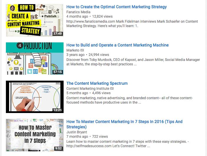 content marketing thumbnails
