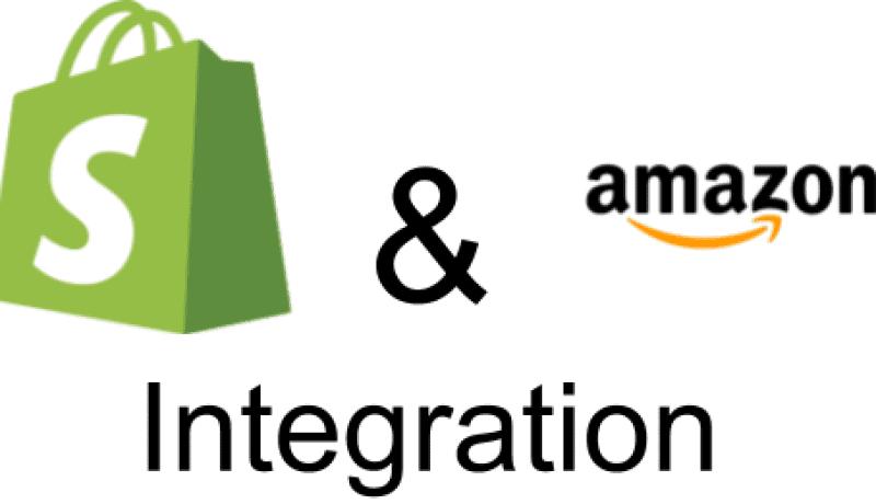 Shopify & Amazon Integration Header