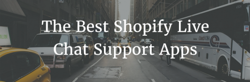 Shopify Live Chat App Reviews Header