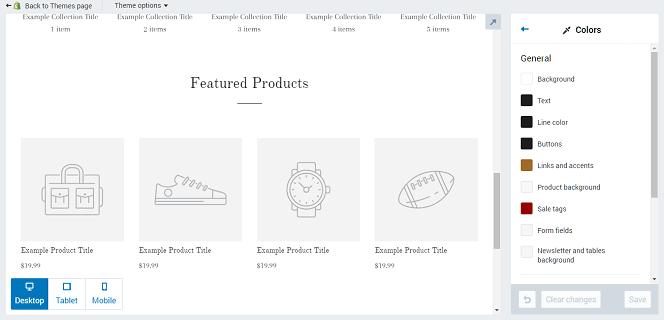 Shopify Theme Options