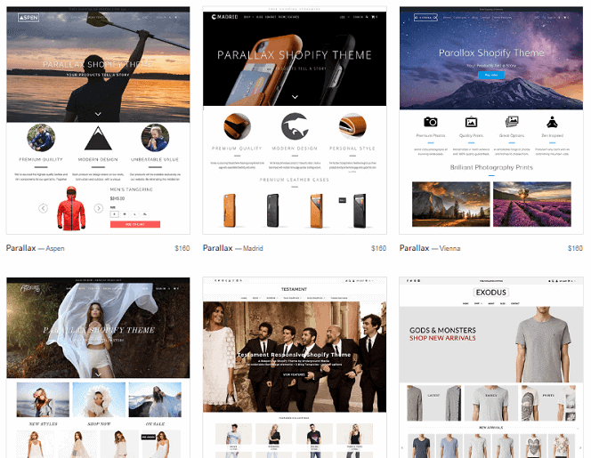 Shopify Theme Options