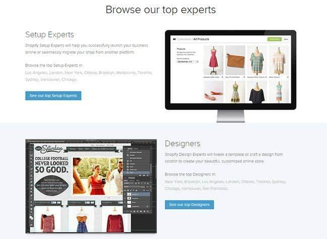 Wix Experts Support Page