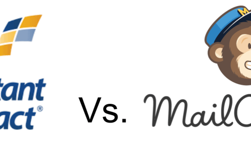 Constant Contact vs Mailchimp Header