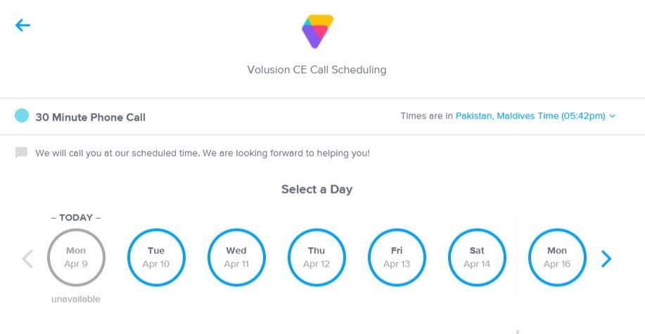 volusion customer support