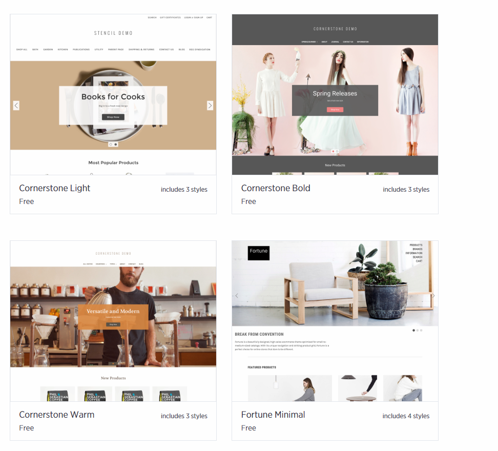 bigcommerce template