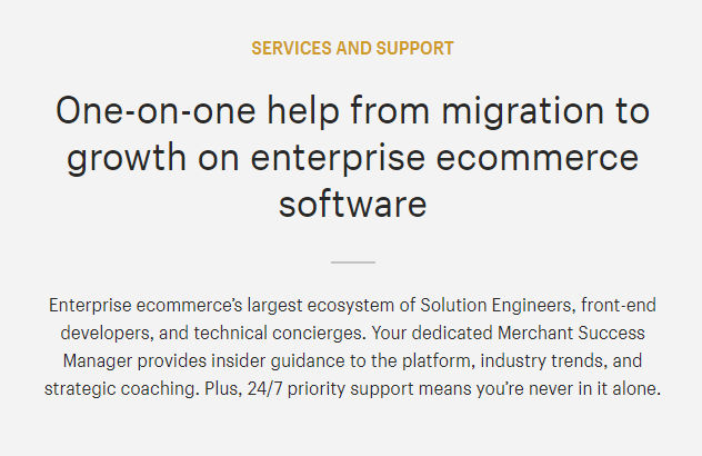 Shopify Services & Support