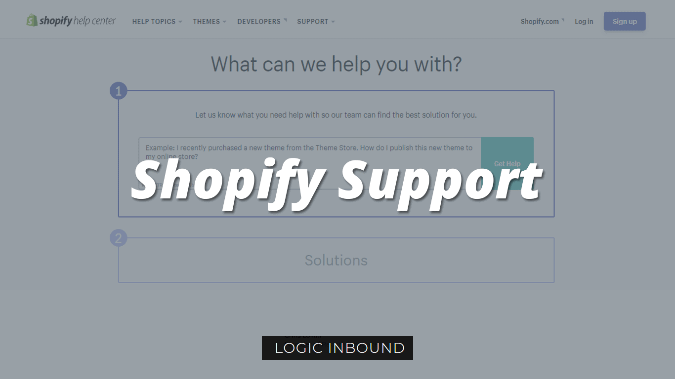 Shopify Support | Shopify Customer Service | Shopify Help