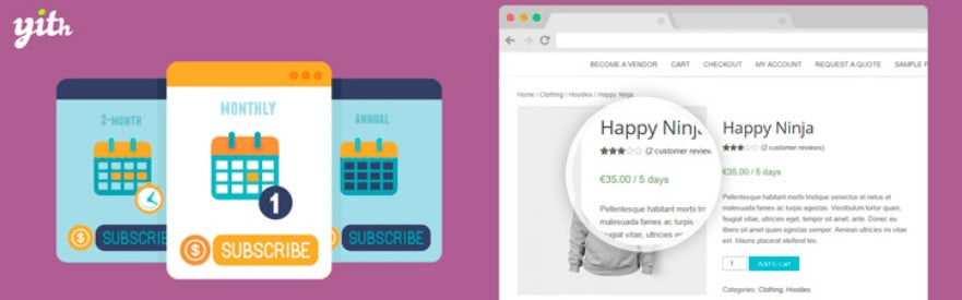 yith woocommerce subscriptions