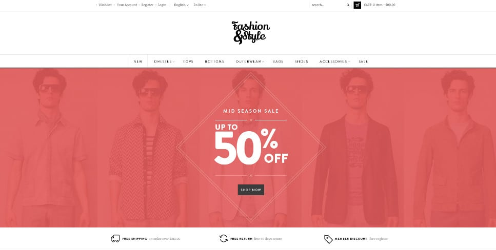 fashion themes magento