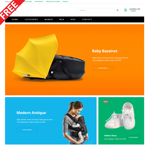 magento themes fashion