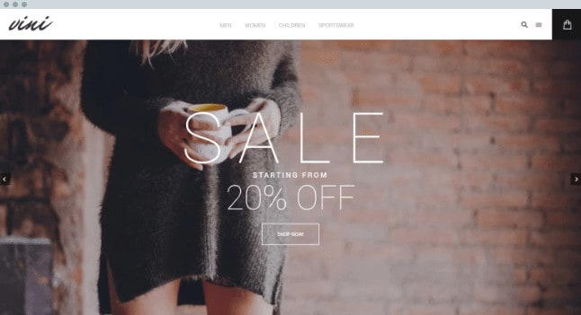 Magento Theme for Fashion Stores