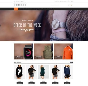 free magento themes for clothing store