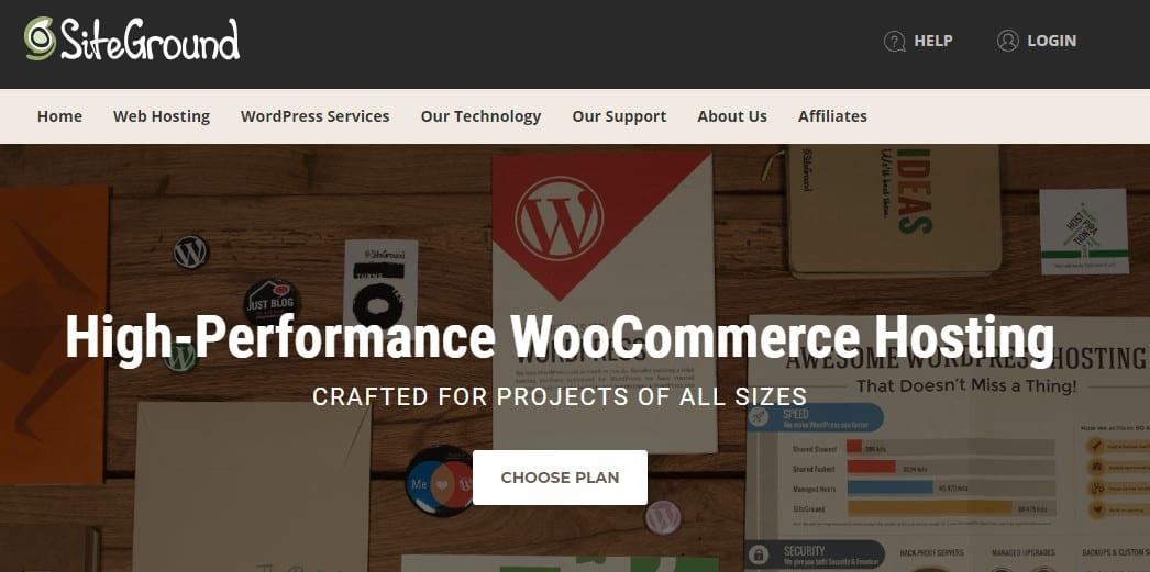woocommerce siteground
