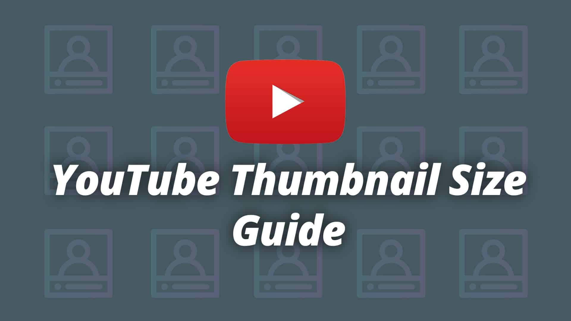 Youtube Thumbnail Size Guide And Best Practices 2019 Logic Inbound