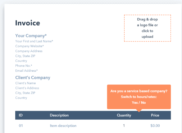 Best Free Invoice Templates Rated Logic Inbound